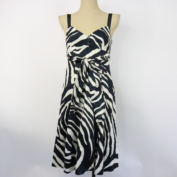 Zara dresses zebra stripe dress poshmark jpeg 580x580 Zebra patterned dress a2c92a15d